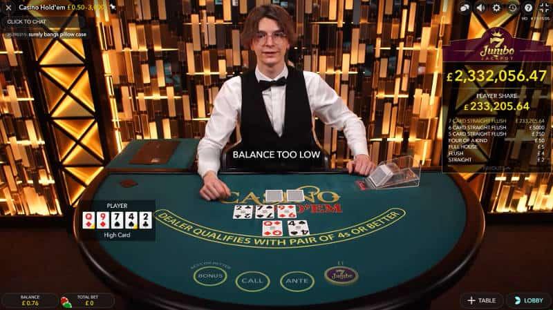 Bästa live casinon 42644