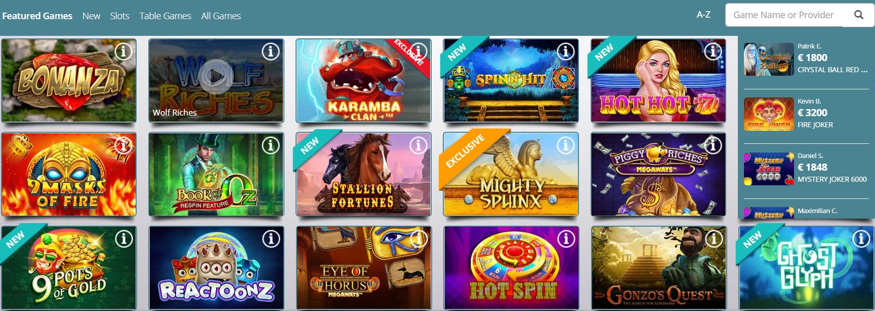 Veckans casino erbjudande 24165