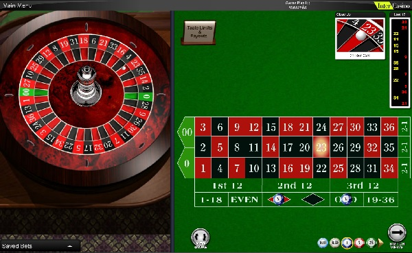 Roulette hjul 59019