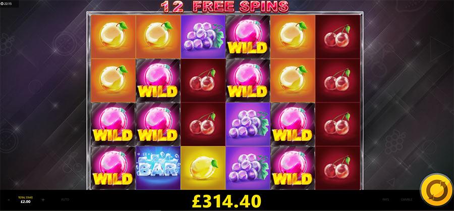 Fruit spins spelautomater Big 64079
