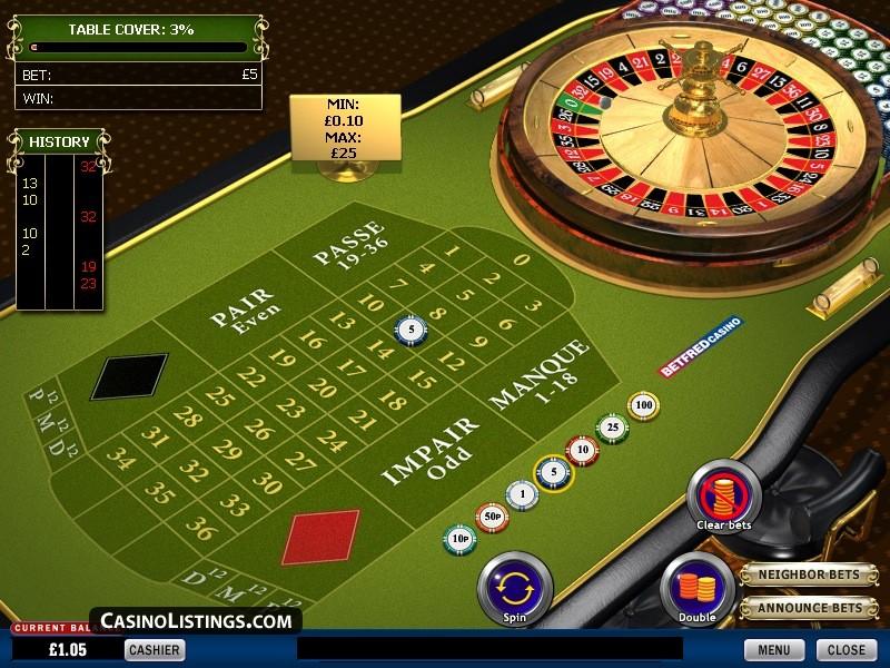 Amerikansk roulette online 15204