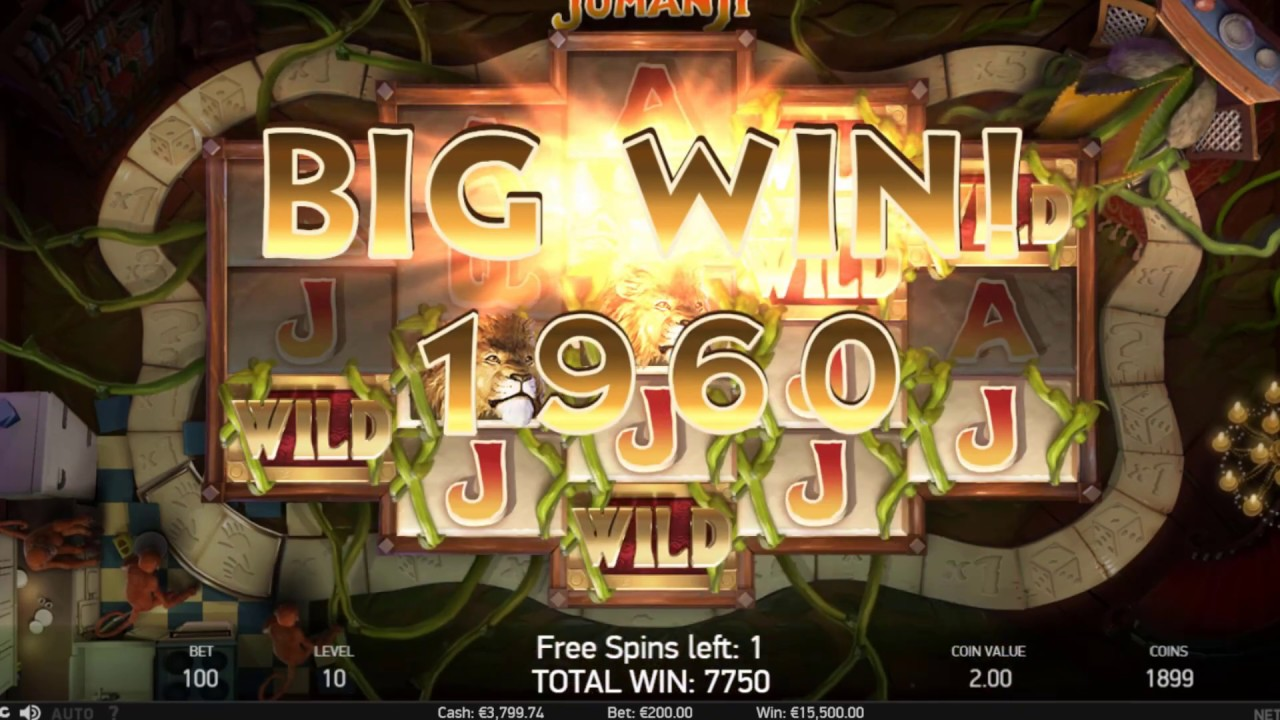 Slots Turnering Jumanji casino 48943
