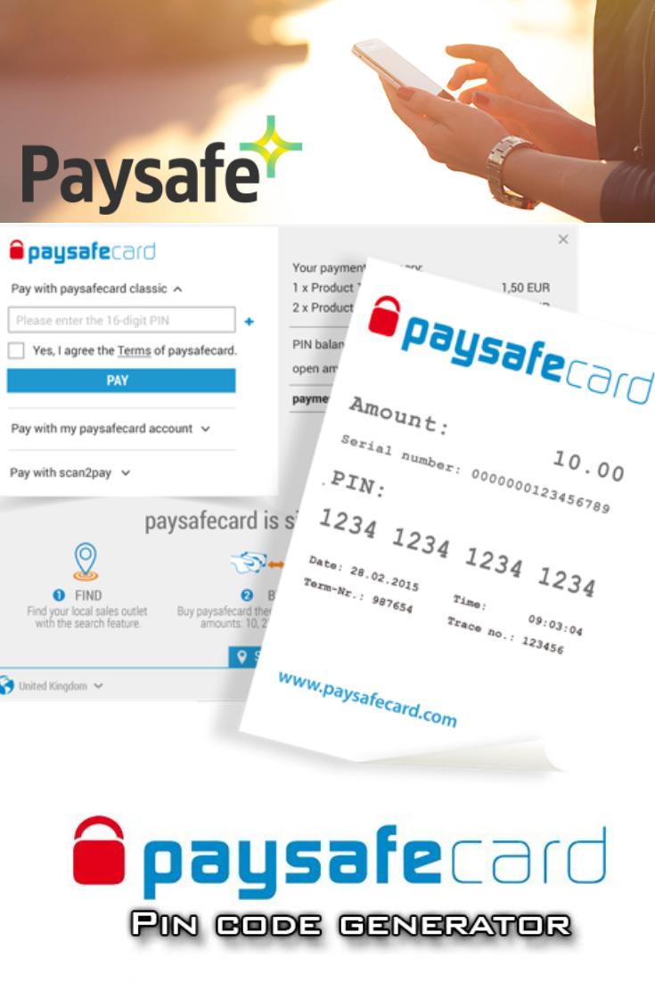 Paysafecard epin free 37207