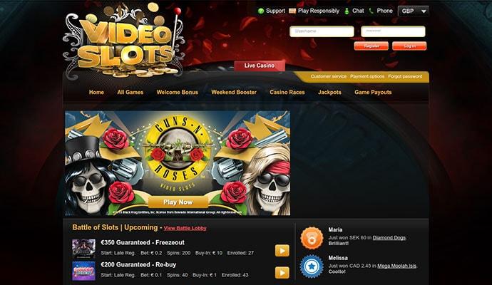 Videoslots battle of slots 12470
