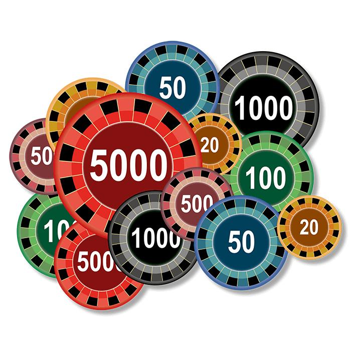 Roulette system svart 17192