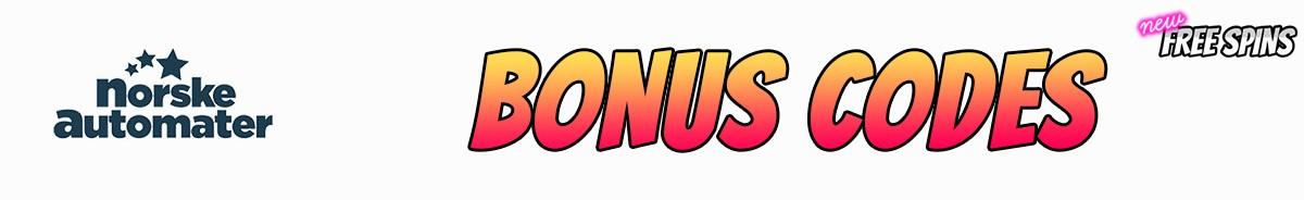 Norskeautomater bonus code 35232