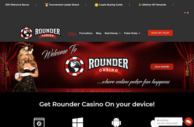 Vadslagning på nätet Rounders 13394