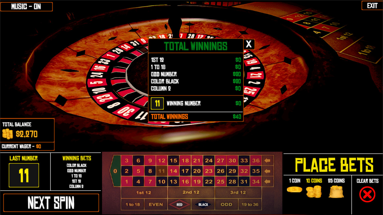 Free roulette simulator pays 43723