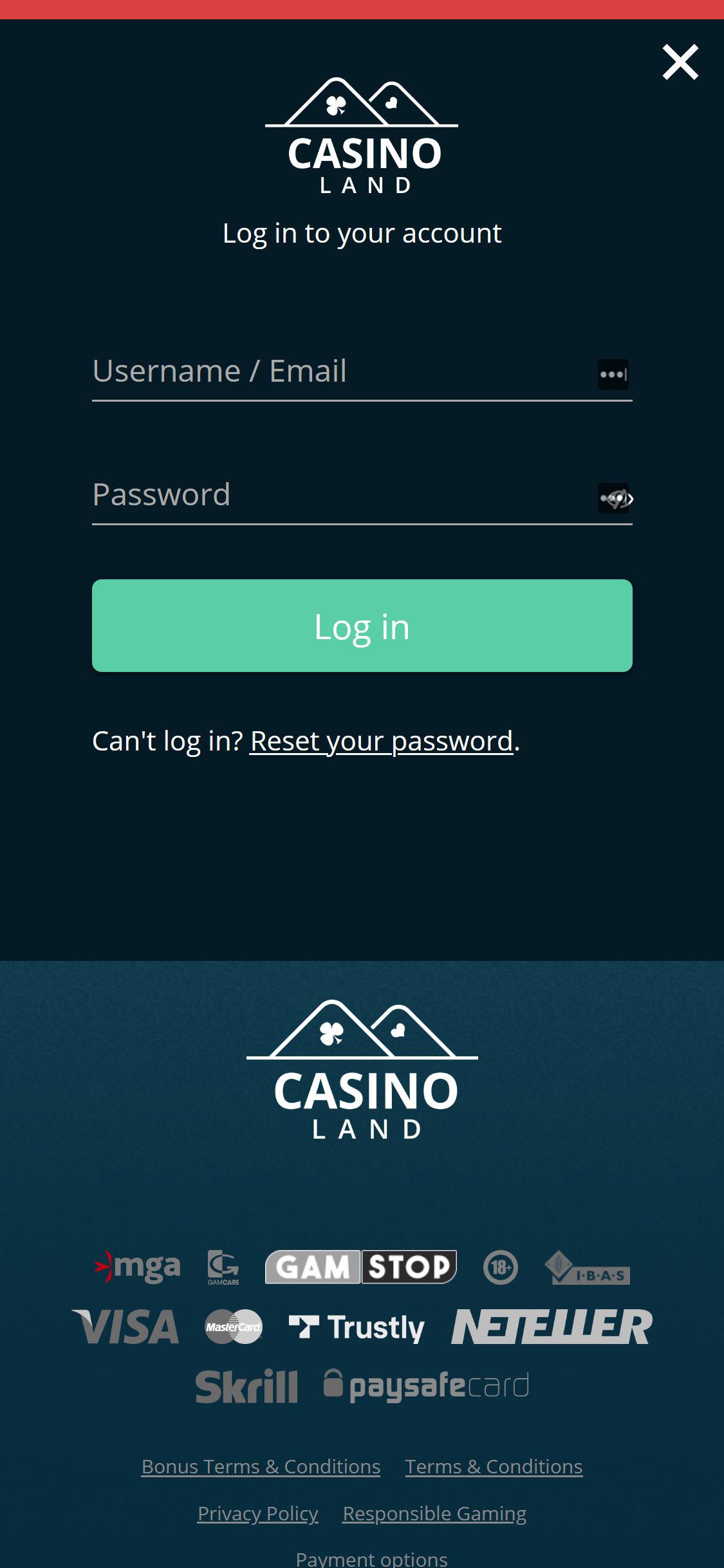 De fem bästa casino 50978