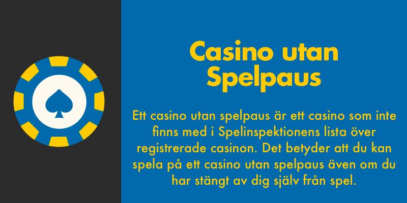 Casino utan regeringen casinospel 51025