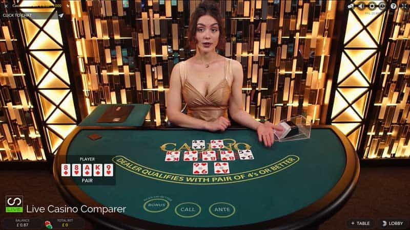 Bästa live casinon Holdem 41942