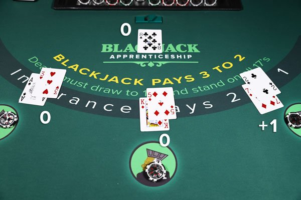 Blackjack counting cards quick 21143