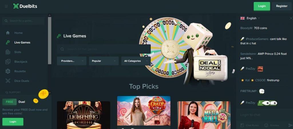 Duels casino videopoker 35219