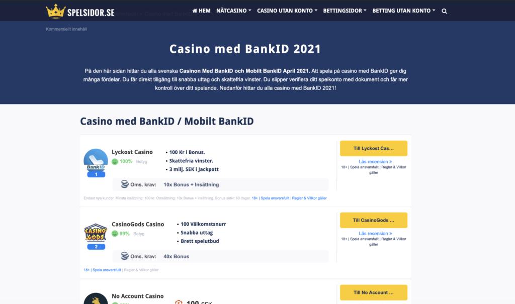 Casino utan omsättningskrav 28009