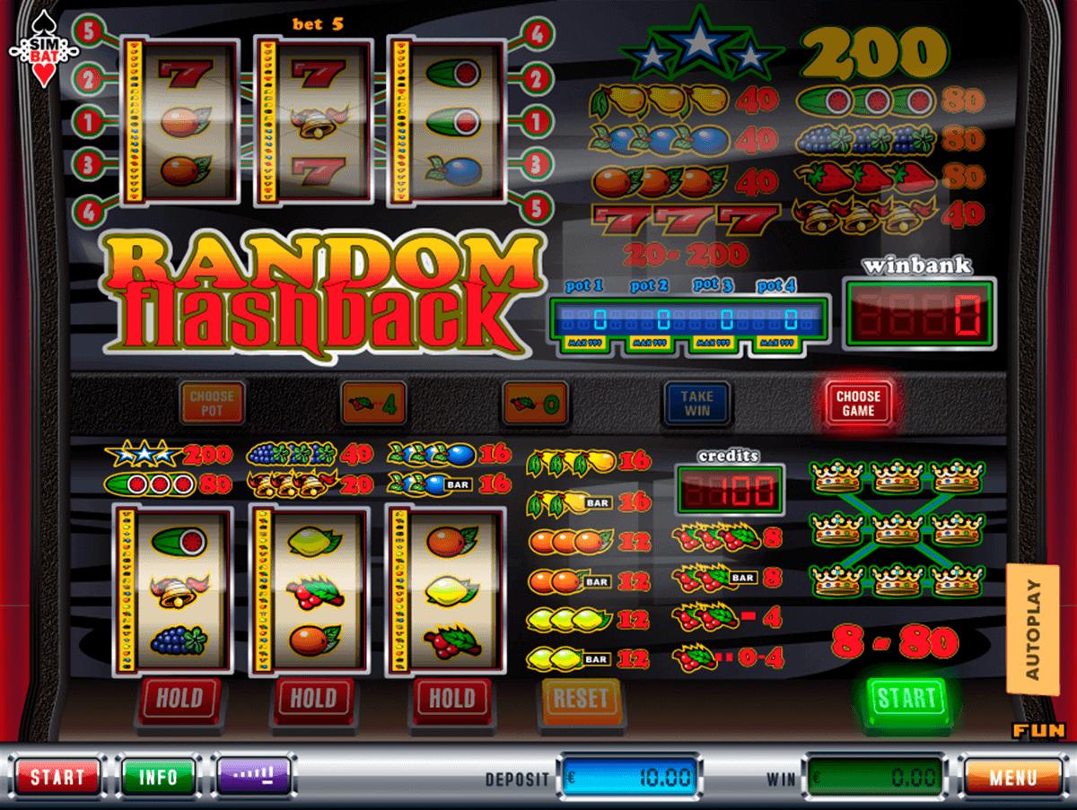 Videoslots flashback casino 64676