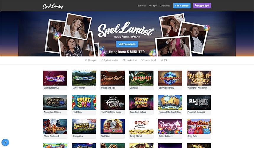 Casino snabbt bonusar SpelLandet 54144