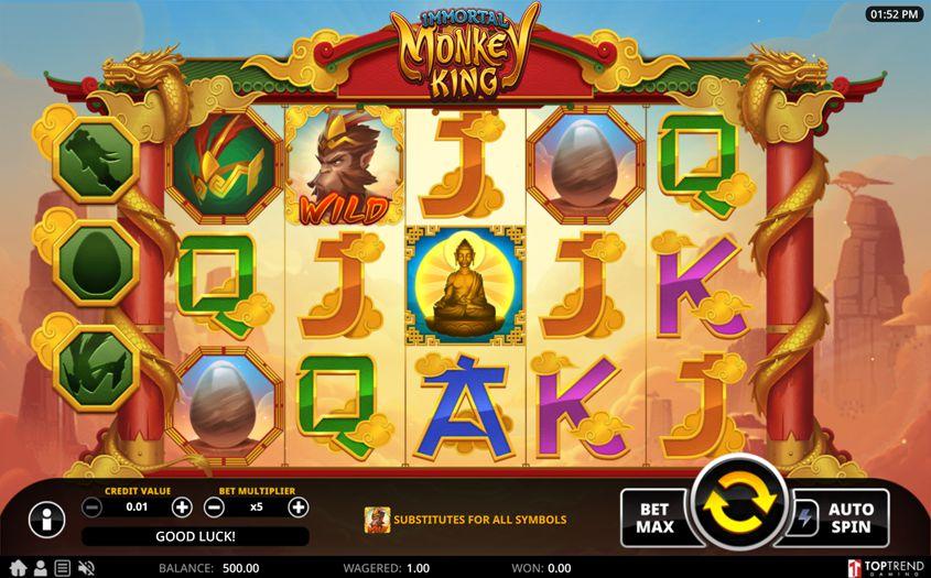 Gaming analys Monkey 17013