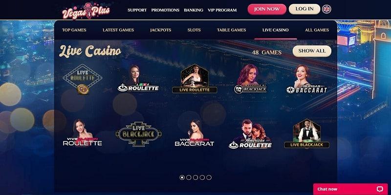 Online casino test VegasPlus 18178