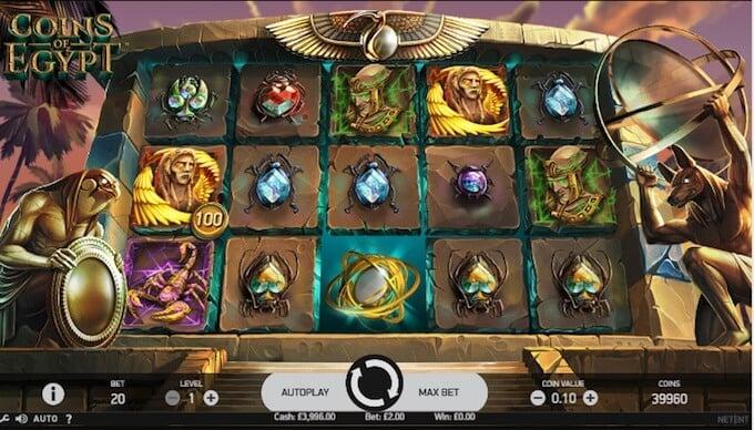 Spelkassa casinospel Coins 52635
