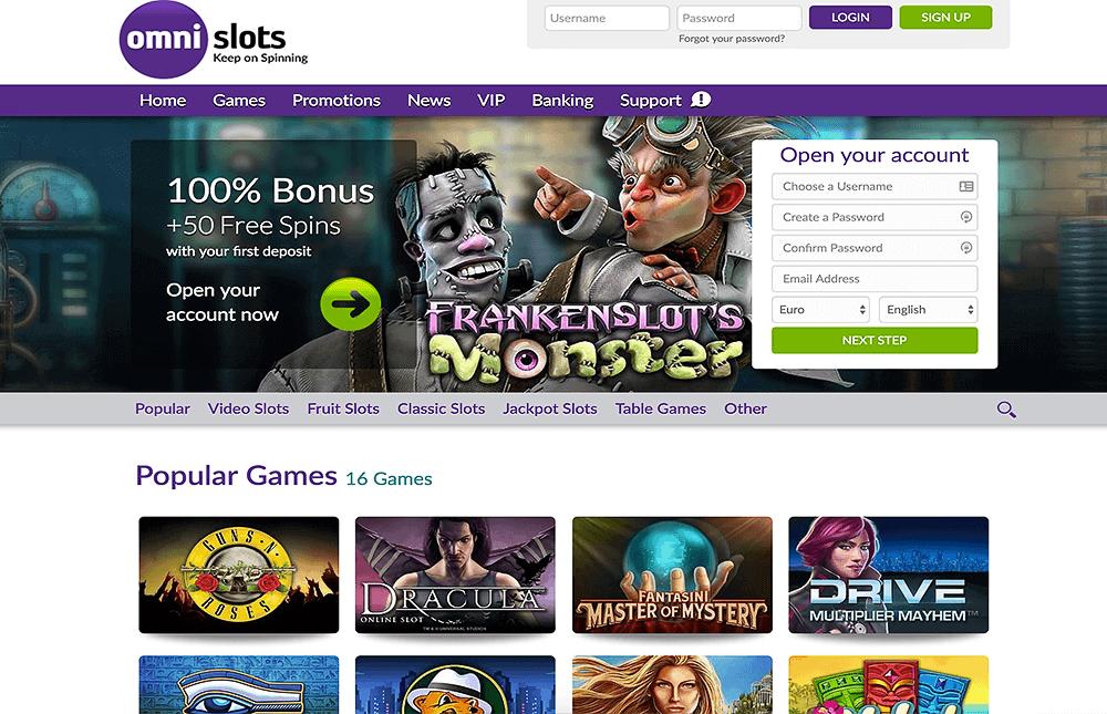VR casinon Omni Slots 46712